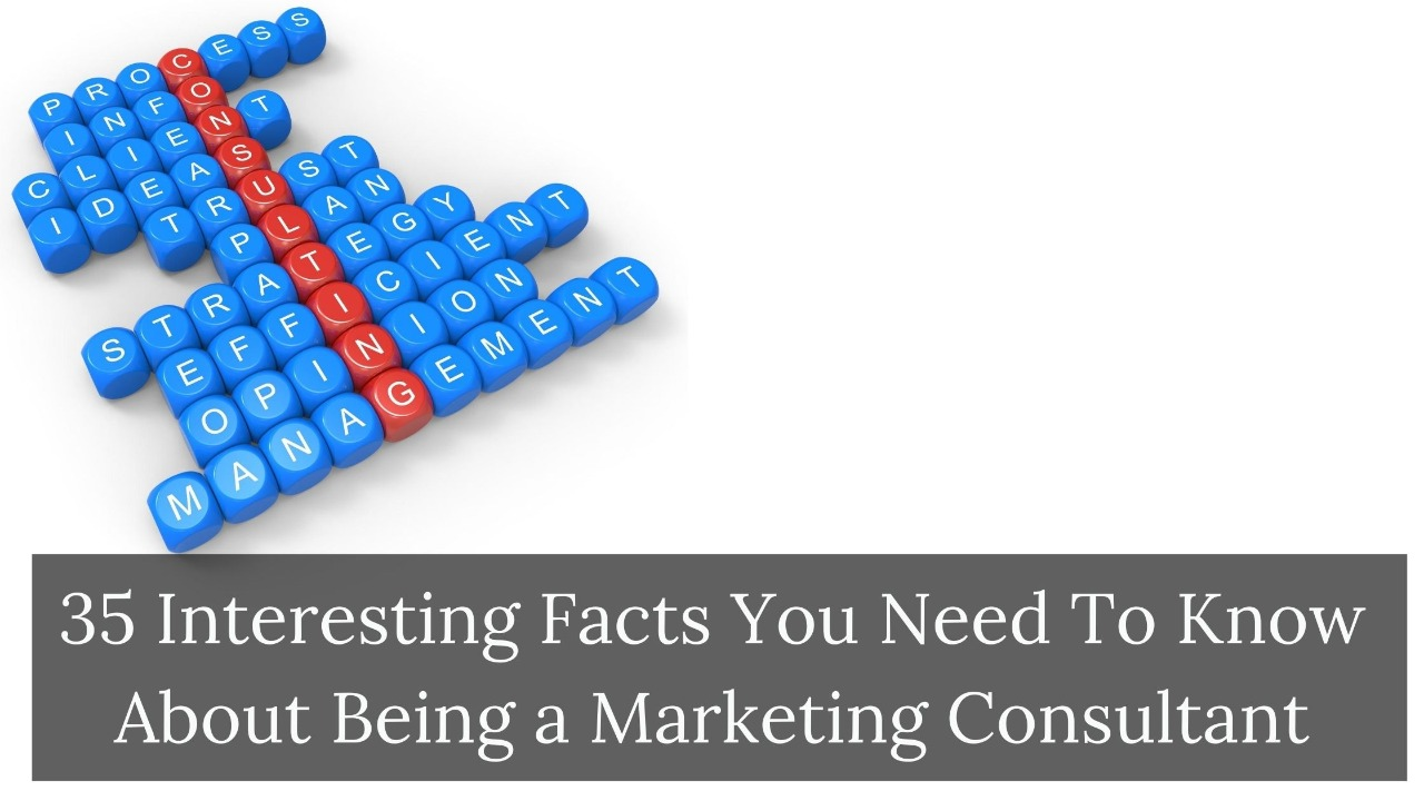 35 Interesting Facts You Need To Know About Being a Marketing Consultant