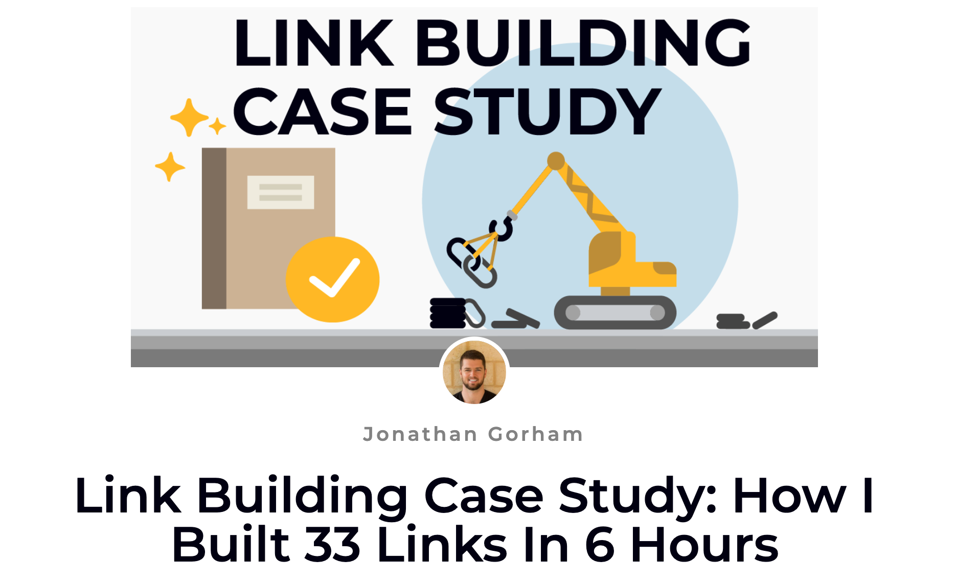 How to Build Quality Links FAST
